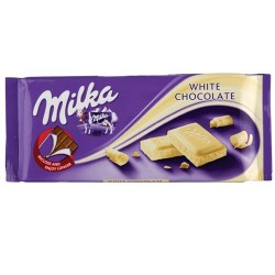 Cokolada bela Milka White100g