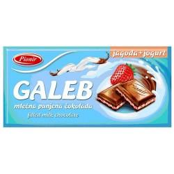 Cokolada jagoda jogurt Galeb 80g