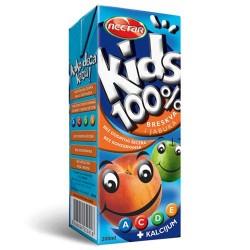Sok Nectar Kids breskva 100% 0.2L Nectar