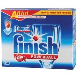 Deterdzent za sudje Finish Powerball All in 1 28 tableta